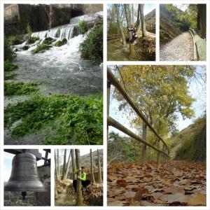 Nacimiento del río queiles-castillo Vozmediano