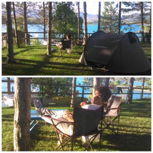 parcela del camping Aritxaleku