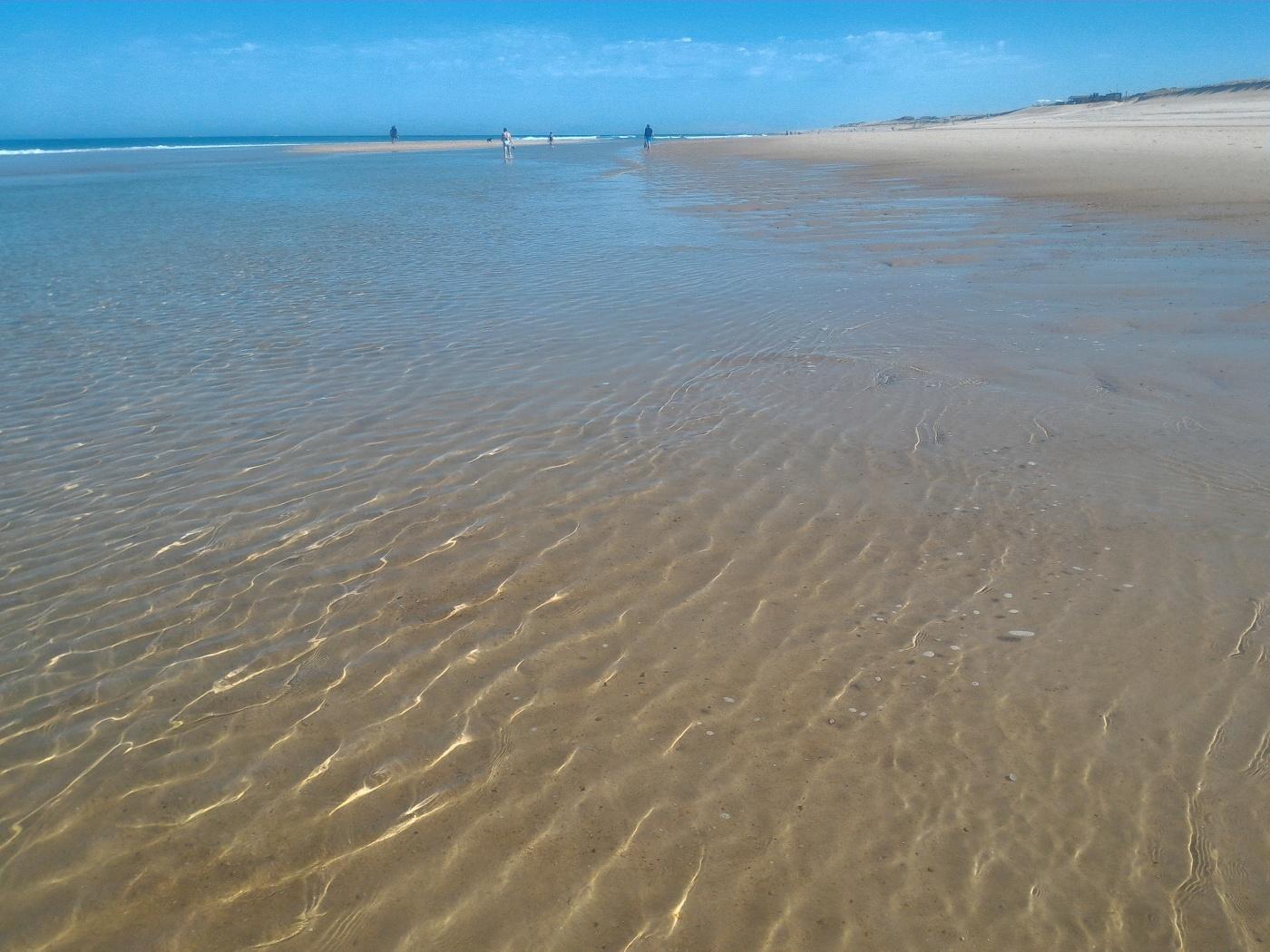 playa Aquitaine, Landas