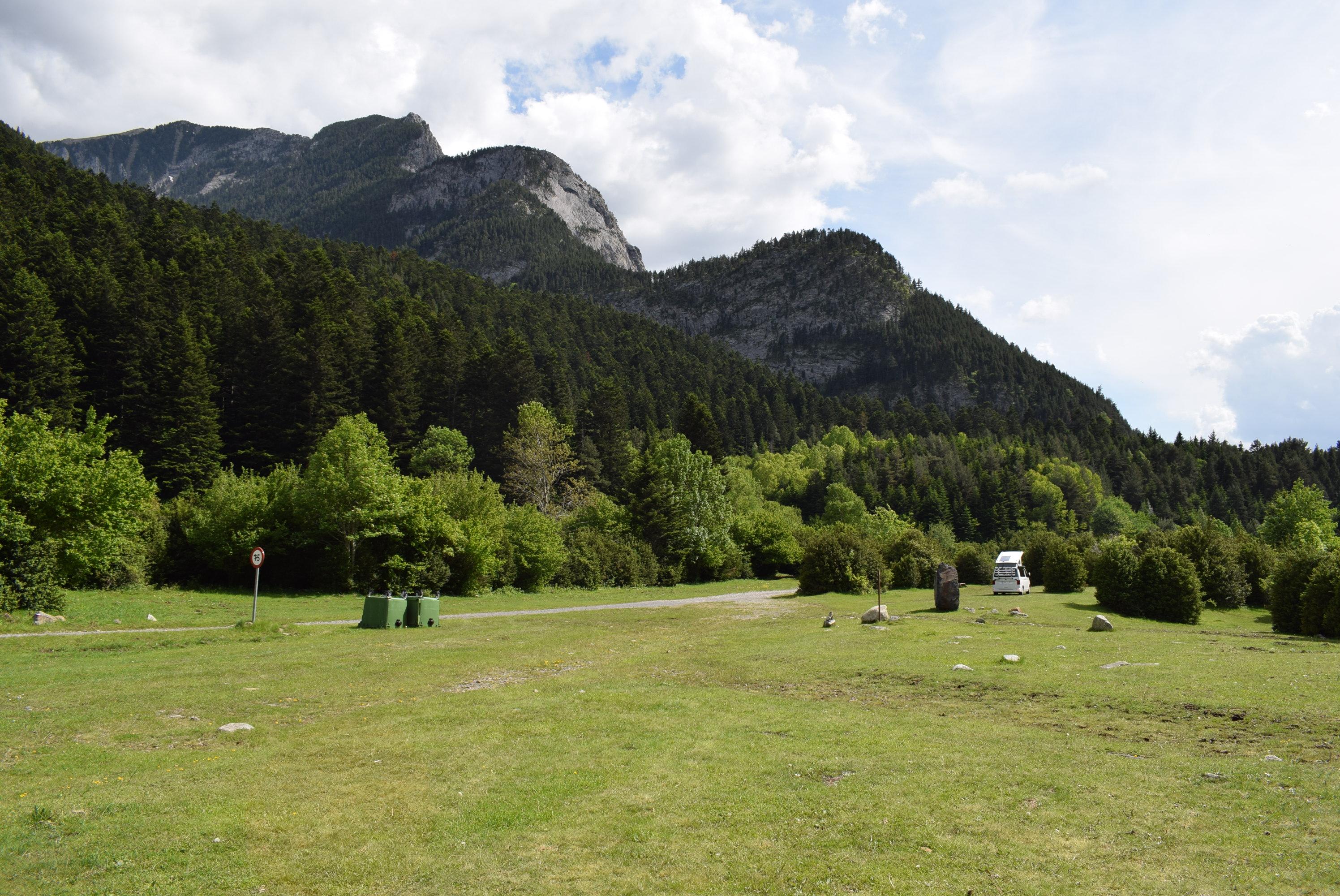 acampada libre benasque